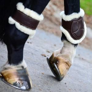 Bilde av Kentucky Sheepskin Leather Fetlock Boots Brown