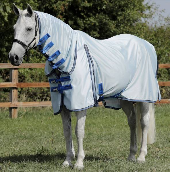 Combo Mesh Air Fly Rug Blue