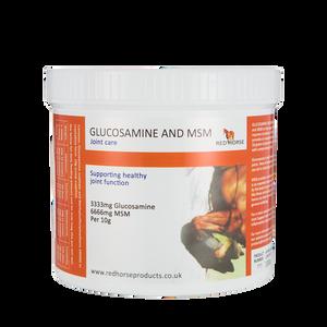 Bilde av Red Horse Glucosamine & MSM 1kg