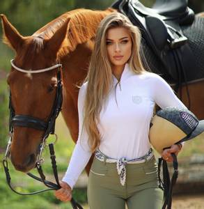 Bilde av Bullet Equestrian Base Layer Top White