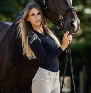 Bilde av Bullet Equestrian Base Layer Top Black