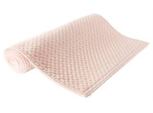 Bilde av Løper diamant velur rosa 40x140