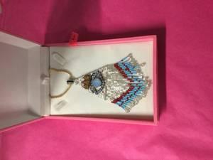 Bilde av Bibi halskjede sølv