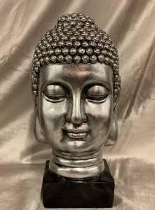 Bilde av Buddha Hode Sølv