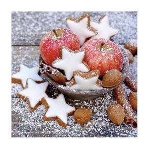 Bilde av Lunsj servietter Apples and cookies