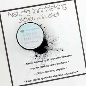 Bilde av Naturlig Tannbleking kokoskull