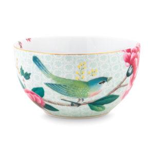 Bilde av Bowl Blushing Birds white 12cm