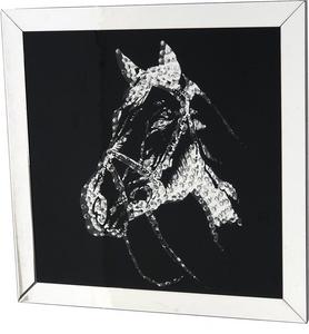 Bilde av Glass bilde Hest