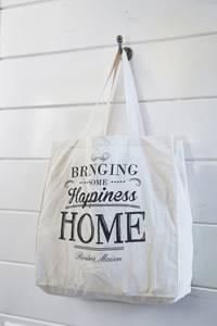 Bilde av Handle Bag Bomull Happiness 45x45x14
