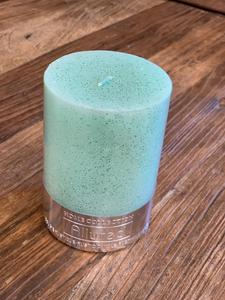 Bilde av Edelweiss kubbelys glitter grønn