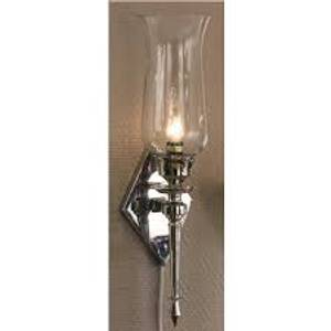 Bilde av A Grosist Vegg Lampe Sølv liten Elektrik