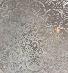 Bilde av Bc design Bilde sølv mønstret motiv