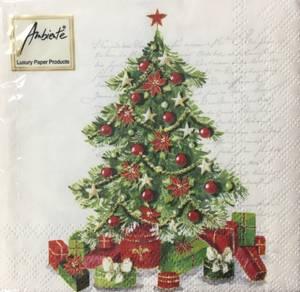 Bilde av Kaffe servietter juletre