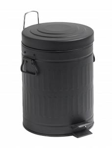 Bilde av Nordal trash can black 5 L