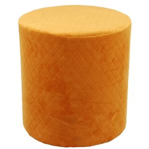 Bilde av Miljøgården puff velvet orange