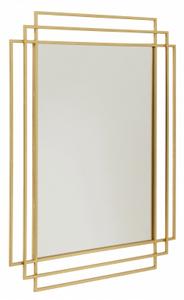 Bilde av Nordal square mirror gold