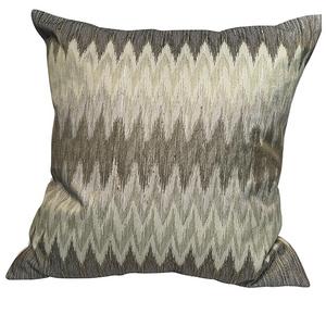 Bilde av Millemoi Cushion Cover Cotton Green Zig Zag