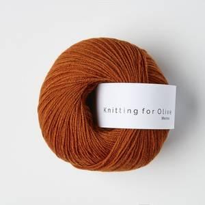 Bilde av Brent Orange - Knitting for