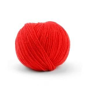 Bilde av 26 Poppy-red ORGANIC CASHMERE