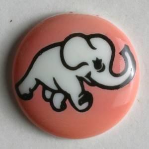 Bilde av Dekor knapp, Elefant