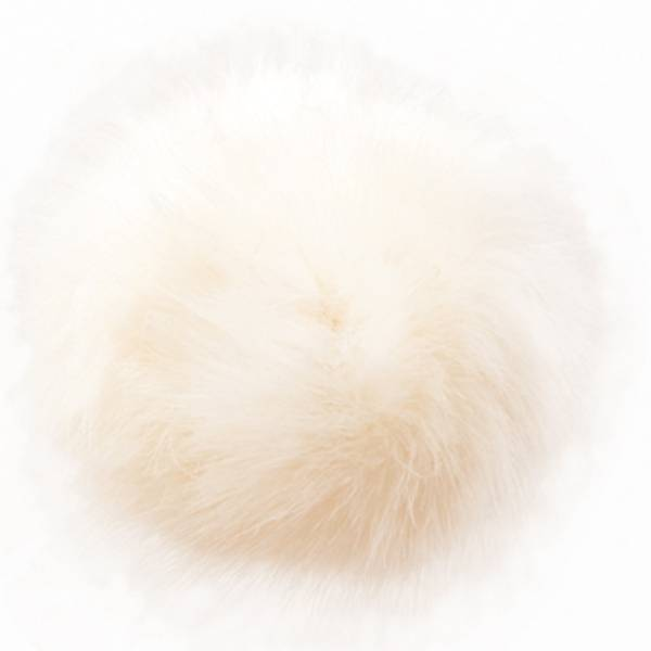 Hvit dusk fra Permin 13 cm
