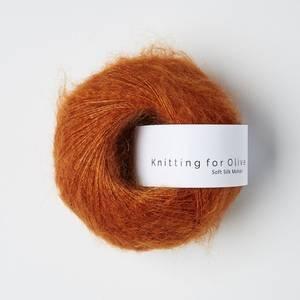Bilde av Brent Oransje - Knitting for