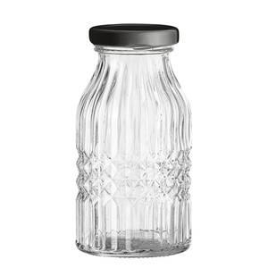Bilde av Flaske med lokk, Klar, Glass