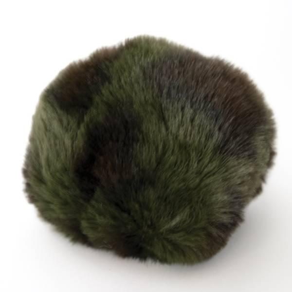 Dusk liten lys olivengrønn/sort
