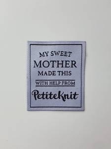 """Bilde av Label """"My Sweet Mother Made"""