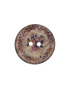 Bilde av Kokos knapp med blomsterkrans