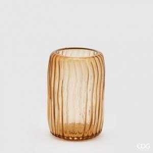 Bilde av Lav vase i oker fra EDG