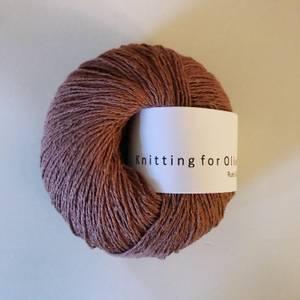 Bilde av Blommerosa Silke Knitting for