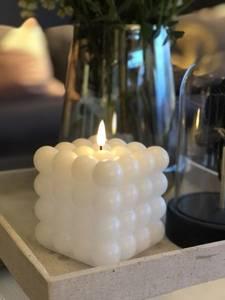 Bilde av Led lys kubbe boble hvit