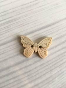 Bilde av Figur knapp, sommerfugl