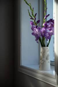 Bilde av Pimp (stone) Vase - liten - porselen- hvit-