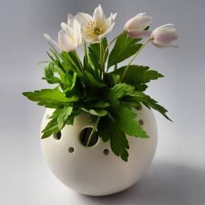 Bilde av Vase -Mark- porselen markblomster
