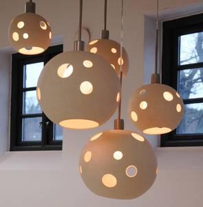 Bilde av Skygge medium - steingodsleire, taklampe, lampe,