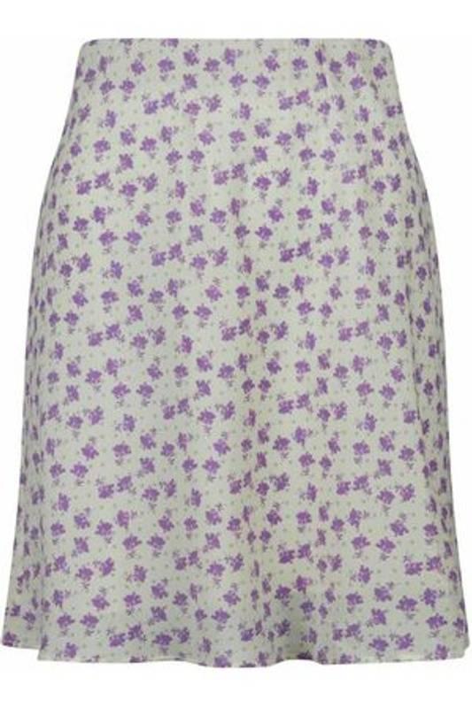 Bilde av NEO NOIR Lunna Flower Dot Skirt