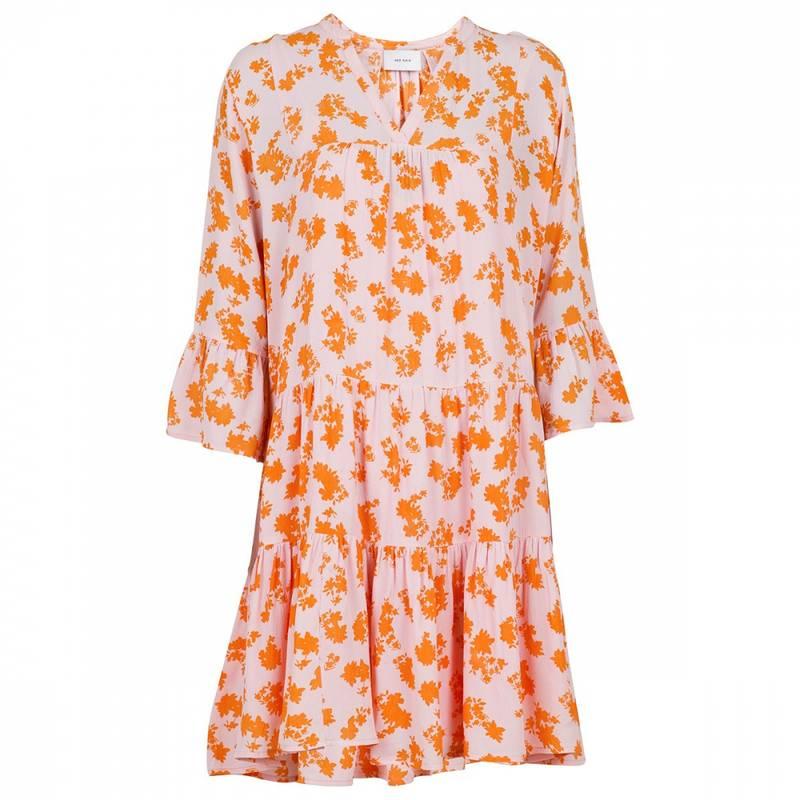 Bilde av NEO NOIR Gunvor Primerose Dress Oransje/rosa