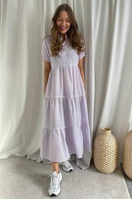Bilde av BY-IC Tiffy Dress Purple