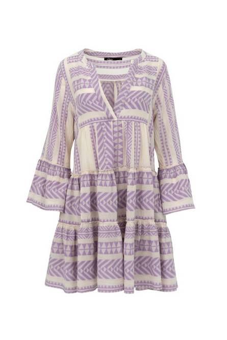 Bilde av DEVOTION Dress Lilac/Offwhite