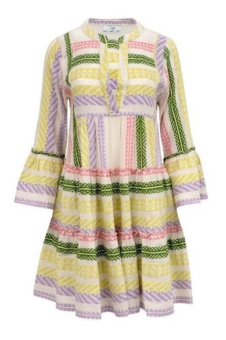 Bilde av DEVOTION Dress Multi Lilla