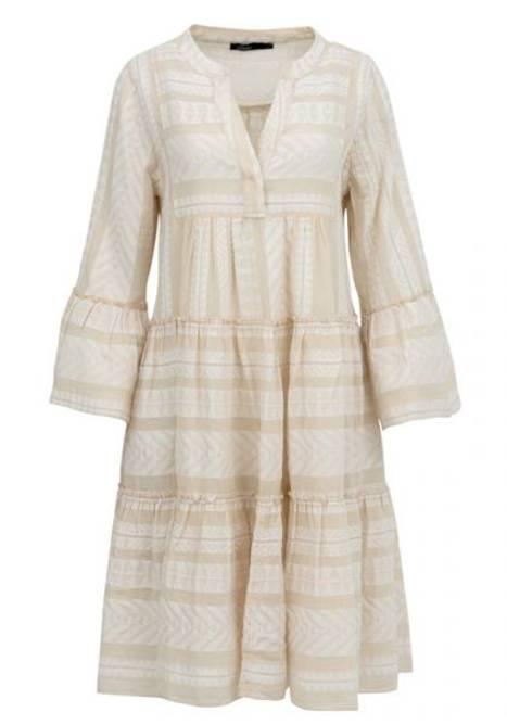 Bilde av DEVOTION Dress Ecru/White