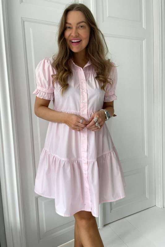 Bilde av BY-IC Asta Dress - Pink