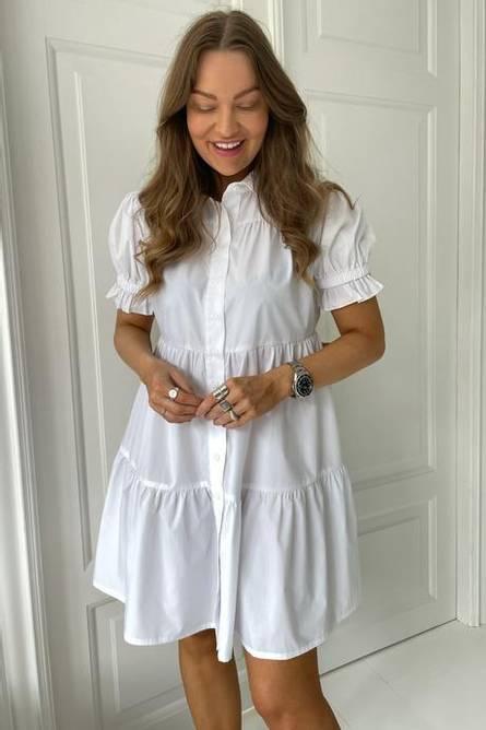 Bilde av BY-IC Asta Dress - White