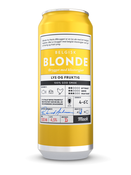 Blonde 0,5l 4pk