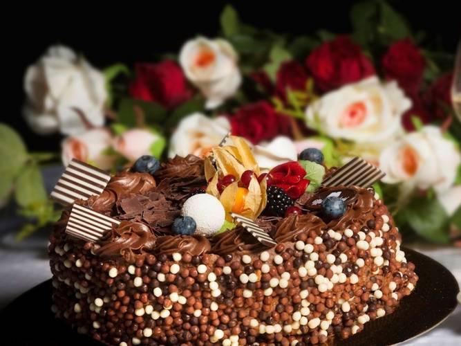 Bilde av Sjokoladekake