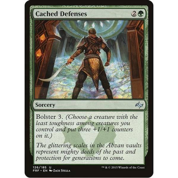 Bilde av Cached Defenses