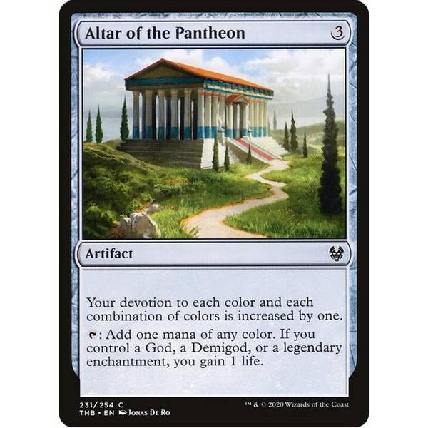 Bilde av Altar of the Pantheon
