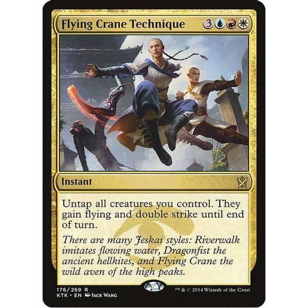 Bilde av Flying Crane Technique